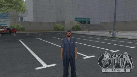 A pele do trabalhador IZH Reparação de automóveis para GTA San Andreas