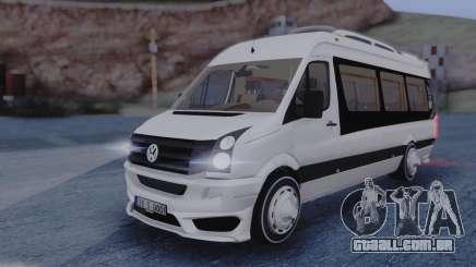 Volkswagen Crafter 2015 para GTA San Andreas