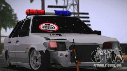 VAZ 2115 Hobo para GTA San Andreas