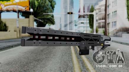 GTA 5 Railgun - Misterix 4 Weapons para GTA San Andreas