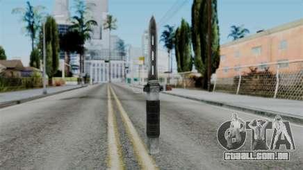 CoD Black Ops 2 - Balistic Knife para GTA San Andreas