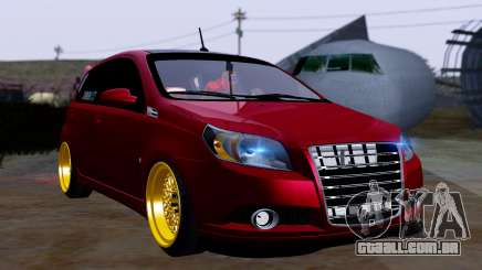 Chevrolet Aveo Stance para GTA San Andreas