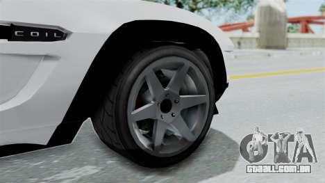 GTA 5 Coil Brawler Coupe para GTA San Andreas vista direita