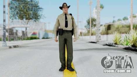 GTA 5 Sheriff para GTA San Andreas segunda tela
