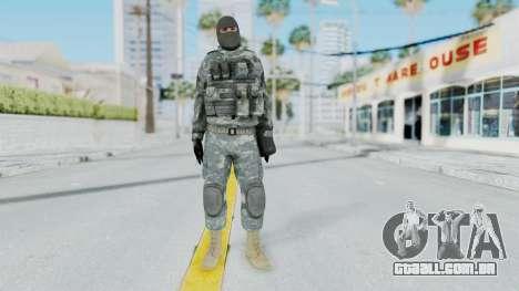 Acu Soldier 3 para GTA San Andreas segunda tela