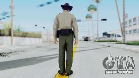 GTA 5 Sheriff para GTA San Andreas terceira tela
