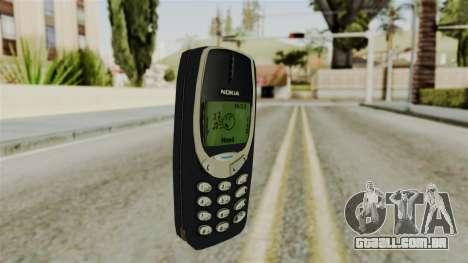 Nokia 3310 para GTA San Andreas segunda tela