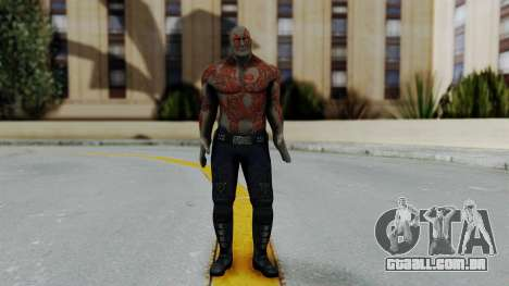 Marvel Heroes - Drax para GTA San Andreas segunda tela