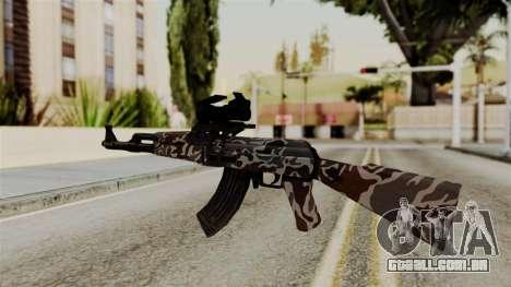 AK-47 F.C. Camo para GTA San Andreas segunda tela