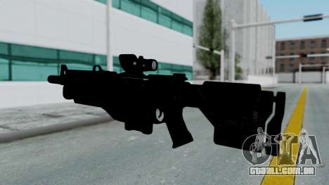 Kusanagi ACR-10 Assault Rifle para GTA San Andreas terceira tela