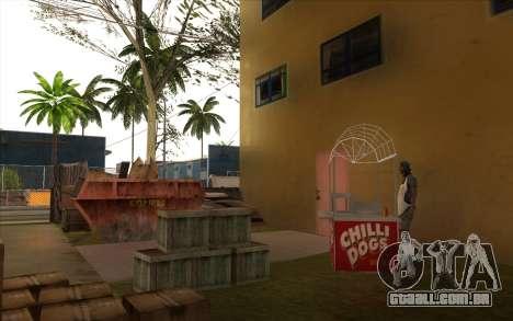 O trabalho de reparação Grove Street para GTA San Andreas décima primeira imagem de tela