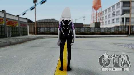 Marvel Future Fight Spider Gwen v1 para GTA San Andreas terceira tela