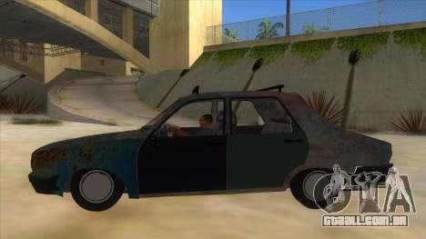 Dacia 1310 Rusty v2 para GTA San Andreas esquerda vista