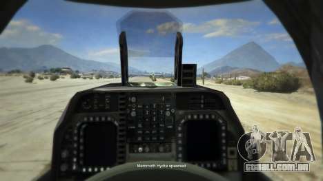 GTA 5 McDonnell Douglas AV-8B Harrier II quarto screenshot