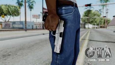 For-h Gangsta13 Pistol para GTA San Andreas terceira tela
