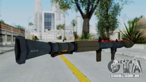 GTA 5 RPG para GTA San Andreas segunda tela