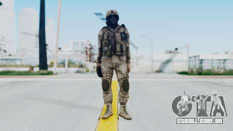 Crysis 2 US Soldier 9 Bodygroup A para GTA San Andreas segunda tela