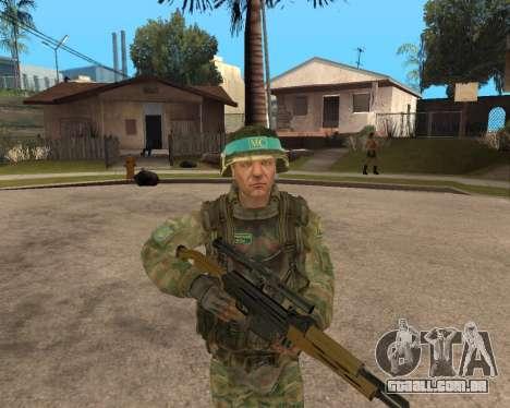 O exército russo Skin Pack para GTA San Andreas segunda tela