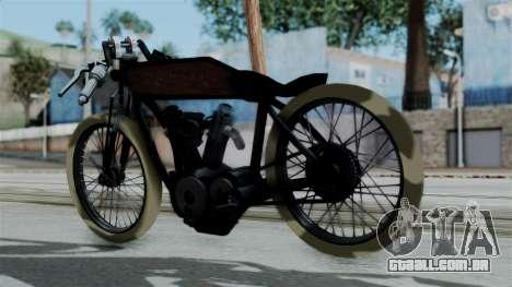Indian 1907 para GTA San Andreas esquerda vista