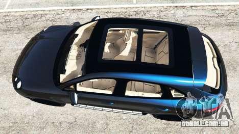GTA 5 Porsche Macan Turbo 2015 voltar vista