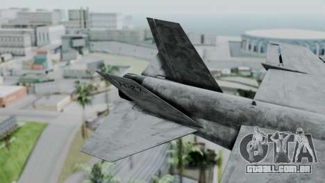 Mammoth Hydra v2 para GTA San Andreas traseira esquerda vista