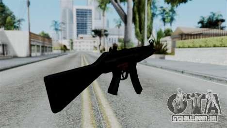 No More Room in Hell - MP5 para GTA San Andreas terceira tela