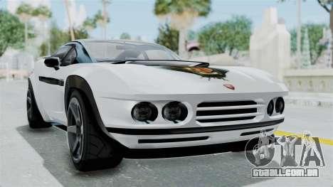 GTA 5 Coil Brawler Coupe para GTA San Andreas esquerda vista