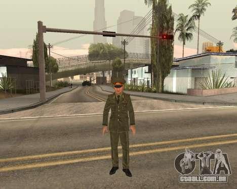 O exército russo Skin Pack para GTA San Andreas décimo tela