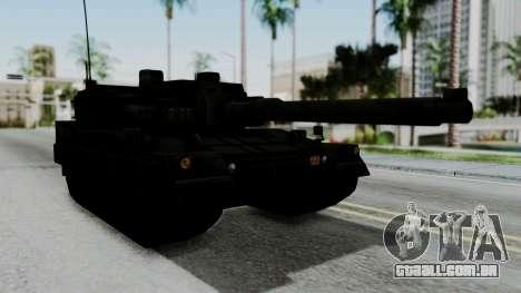 Point Blank Black Panther Woodland IVF para GTA San Andreas