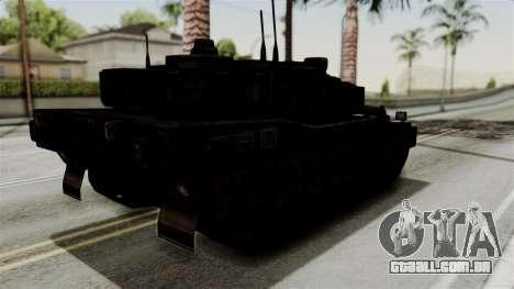 Point Blank Black Panther Rusty para GTA San Andreas vista direita