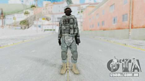 Acu Soldier 4 para GTA San Andreas segunda tela