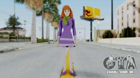 Scooby Doo Daphne para GTA San Andreas segunda tela
