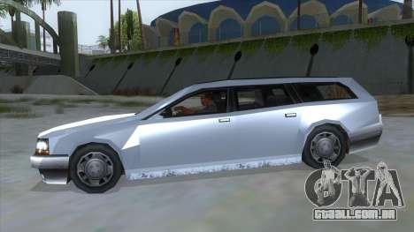 GTA LCS Sindacco Argento para GTA San Andreas esquerda vista