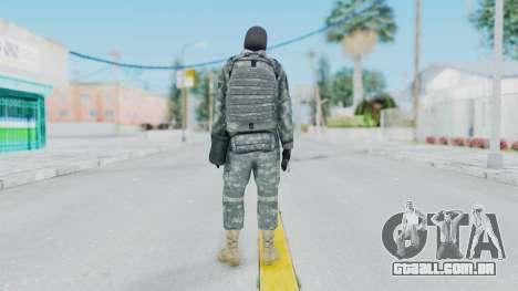 Acu Soldier 3 para GTA San Andreas terceira tela