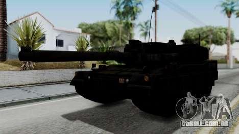 Point Blank Black Panther Woodland IVF para GTA San Andreas traseira esquerda vista
