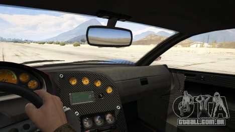 GTA 5 Jester Carbon Line traseira direita vista lateral