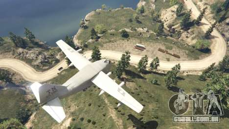 GTA 5 Amphibious Plane oitmo screenshot