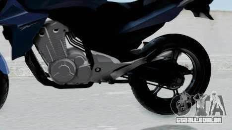Honda CB300R para GTA San Andreas vista direita