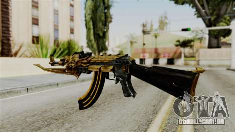 Dragon AK-47 para GTA San Andreas segunda tela