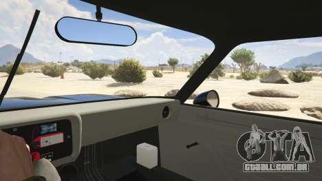 GTA 5 1974 Ford Capri RS traseira direita vista lateral