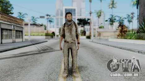 Uncharted 3 - Nathan Drake Desert Outfit para GTA San Andreas segunda tela