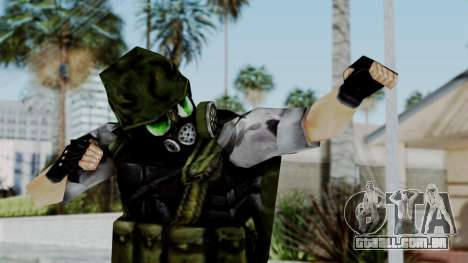 Shephard from Half-Life Opposing Force para GTA San Andreas