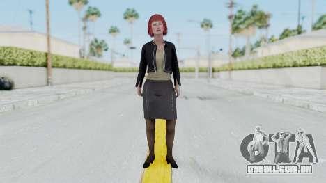 Assassins Creed 4 Melaine Lemay para GTA San Andreas segunda tela