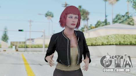 Assassins Creed 4 Melaine Lemay para GTA San Andreas