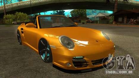 Porsche 911 para GTA San Andreas vista traseira