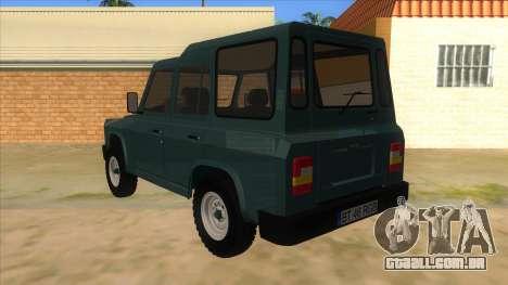 Aro 246 (1996) para GTA San Andreas traseira esquerda vista