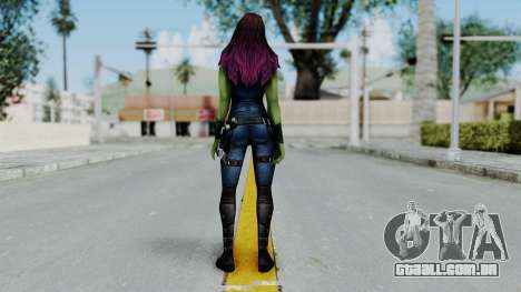 Marvel Future Fight - Gamora para GTA San Andreas terceira tela