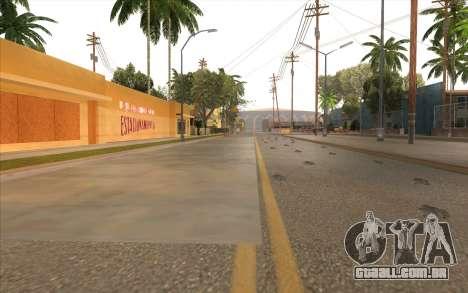 O trabalho de reparação Grove Street para GTA San Andreas twelth tela