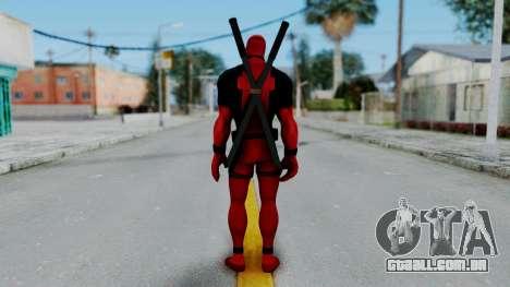 Marvel Heroes - Deadpool para GTA San Andreas terceira tela