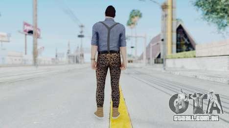 Skin Random 2 from GTA 5 Online para GTA San Andreas terceira tela
